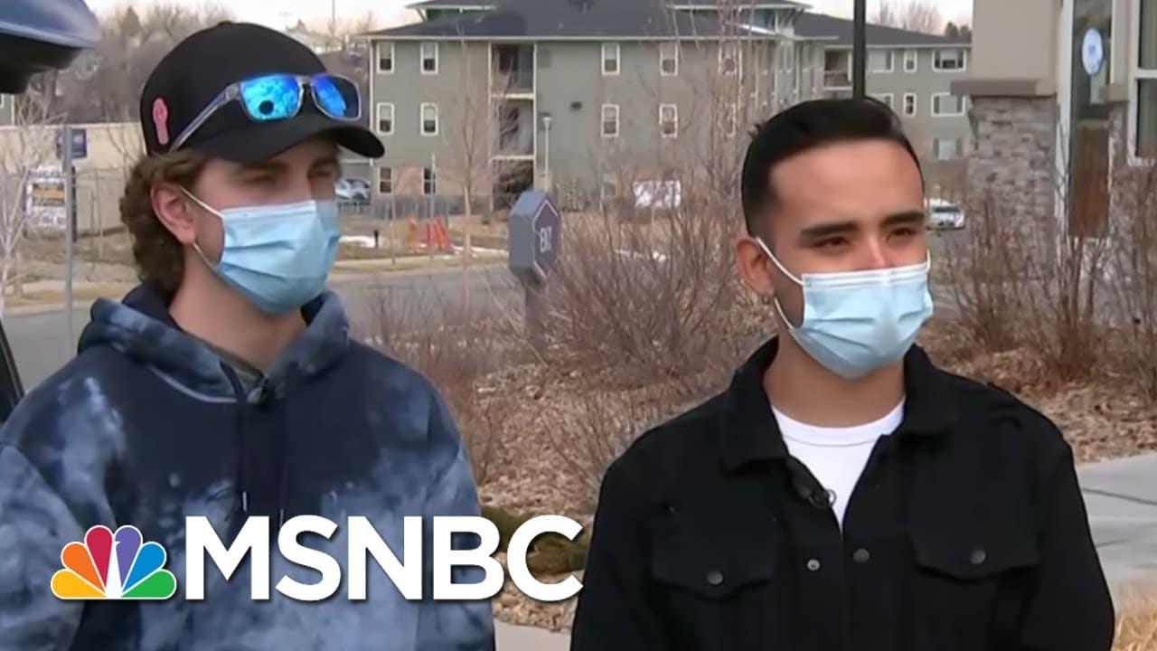 Former Classmates Of Colorado Supermarket Shooting Suspect Speak Out | Ayman Mohyeldin | MSNBC 1