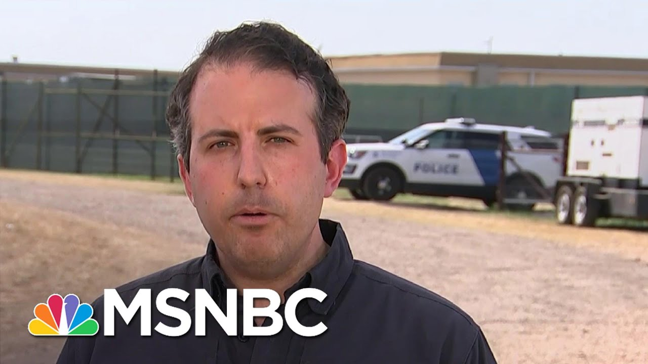 Gutierrez Gets First Inside Look At HHS Facility Housing Migrant Children In TX | Deadline | MSNBC 1