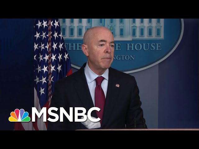 Secy. Mayorkas: Reuniting Migrant Families Is A 'Moral Imperative'   MSNBC 1