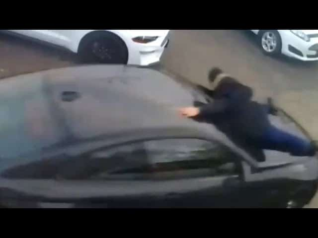 Ont. car salesman tossed from hood of alleged stolen vehicle 1