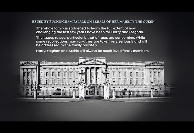 Buckingham Palace statement was 'carefully crafted': royal commentator 1