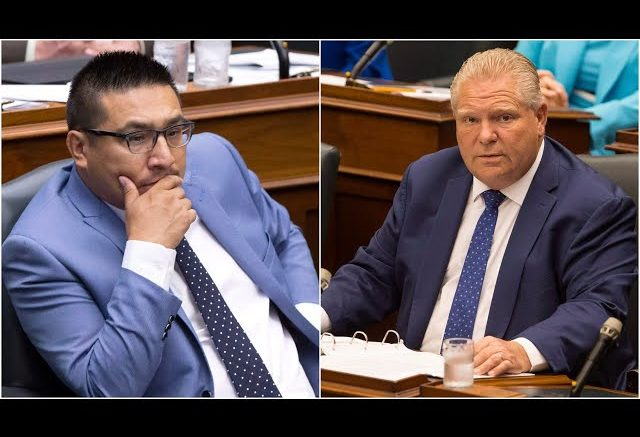 Premier Ford accuses Indigenous MPP of jumping the vaccine queue 1
