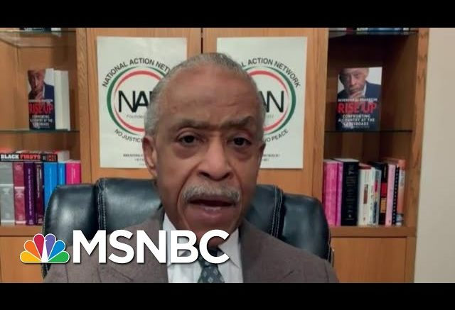 Rev. Al Sharpton On George Floyd Family's Settlement With Minneapolis | Deadline | MSNBC 1