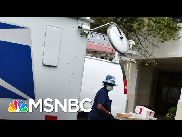 Higher Costs, Slower Mail: What Dejoy's USPS 10-Year Plan May Mean For Customers | MSNBC 1