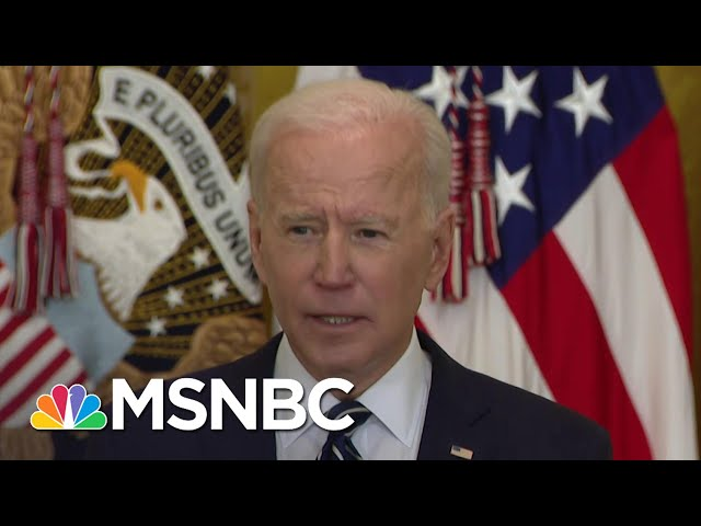 Biden Doubles Goal, Plans To Distribute 200 Million Vaccine Doses By 100th Day In Office | MSNBC 9
