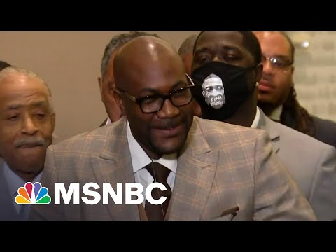 Philonise Floyd: 'We Are Able To Breathe Again' | MSNBC 4