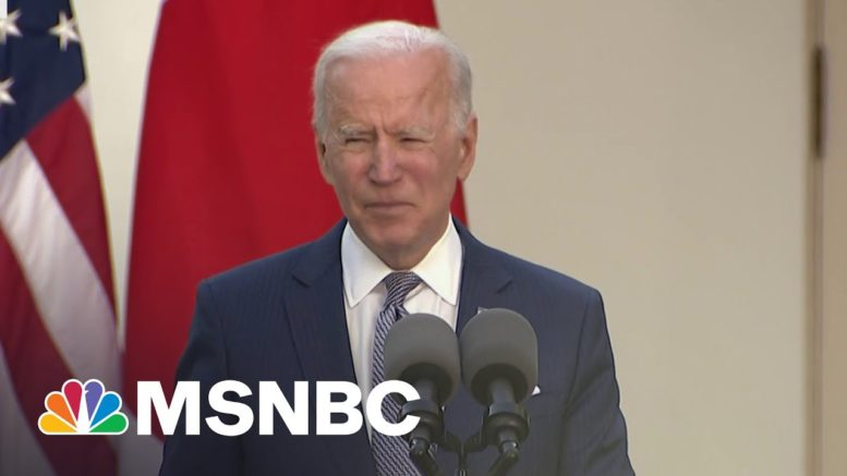 Biden Faced With New Mass Shooting As He Attempts To Carry Out Agenda | The 11th Hour | MSNBC 1