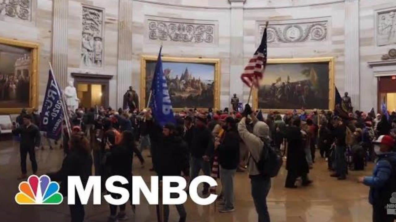 Comity In Congress After 1/6 Impeded By GOP Boosters Of Trump's Big Lie | Rachel Maddow | MSNBC 1