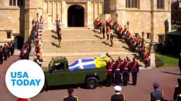 Prince Philip: Royal family says goodbye to the Duke of Edinburgh   USA TODAY 6