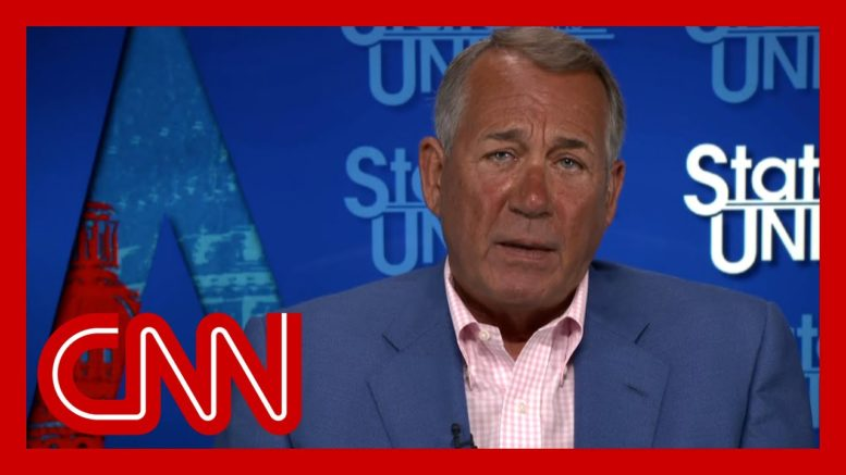 Boehner: 'Republicans have to go back to being Republicans' 1