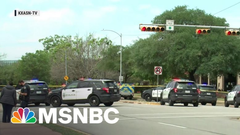 Three Dead After Active Shooting in Austin, Texas | MSNBC 1