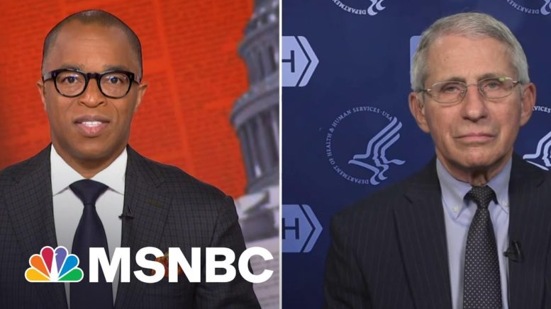 Dr. Fauci on Responding to Rep. Jim Jordan's Contentious Statements at COVID Hearing | MSNBC 1