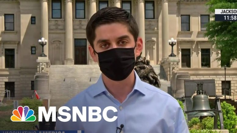 Mississippi Struggling To Fill Vaccine Appointments | MSNBC 1