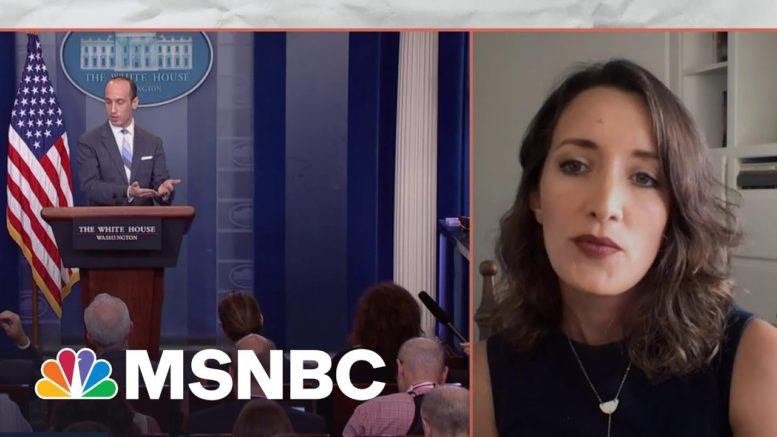 Stephen Miller Reemerges To Cause Problems for Biden | MSNBC 1