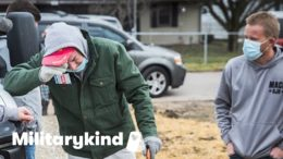 Veteran weeps over new home built by teens   Militarykind 5