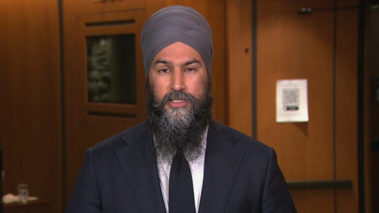 Singh wants a wealth tax, but says NDP will support Trudeau's 2021 budget 1