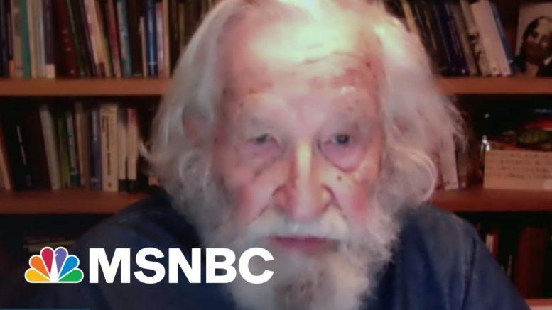 Legendary Activist Noam Chomsky On Biden's Presidency And The Modern GOP | MSNBC 1