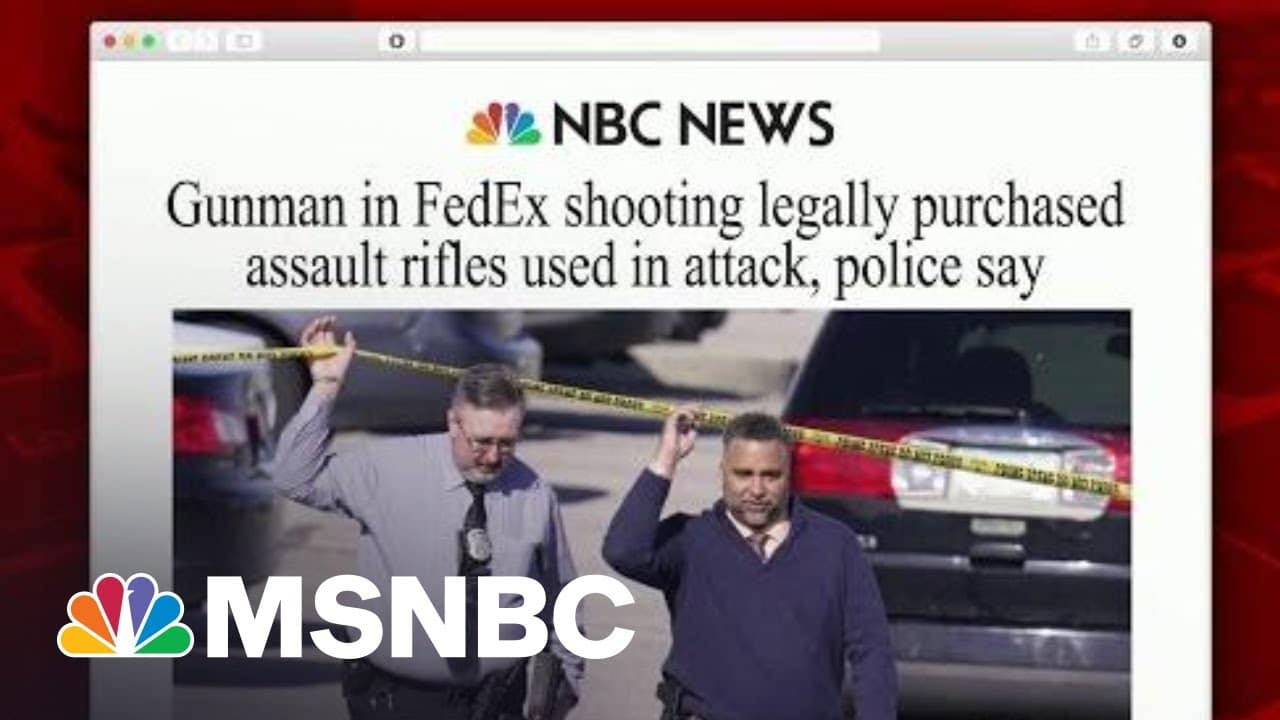 Biden Demands Action On Guns After FedEx Shooting   Morning Joe   MSNBC 6