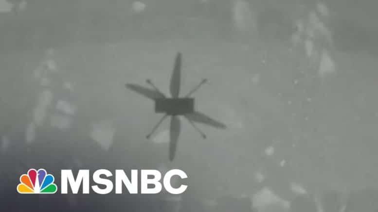 NASA's Mars Helicopter Takes Historic First Flight | Morning Joe | MSNBC 1