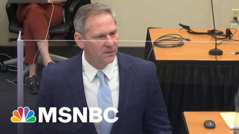Prosecutor: Chauvin On Trial For What He Did To George Floyd, Not For Being A Police Officer | MSNBC 1