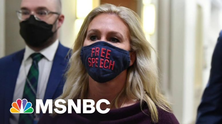 Far-Right Republicans Try To Distance Themselves From 'America First' Caucus   All In   MSNBC 1