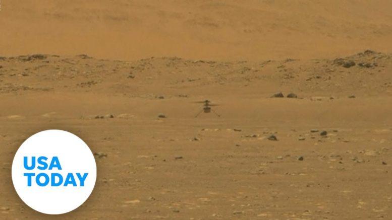 Mars helicopter flight: NASA Ingenuity makes history | USA TODAY 1