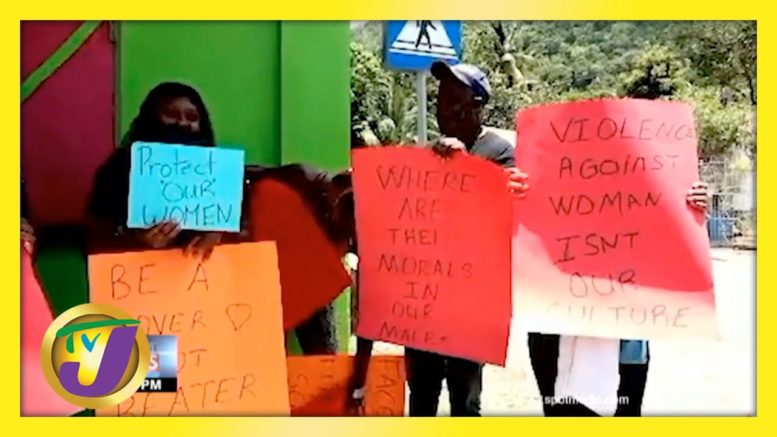 Stop the Violence Against Women in Jamaica | TVJ News - April 17 2021 1
