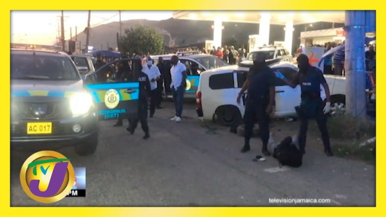 Police High Speed Chase with Gunmen in Kingston Jamaica | TVJ News - April 17 2021 1
