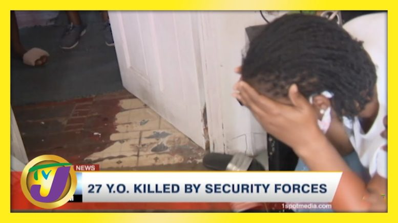 Man Allegedly Killed by Security Forces in Fletchers Land, Jamaica | TVJ News - April 18 2021 1