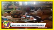 Artist Turns Creative Experience into Business | TVJ Business Day - April 18 2021 4