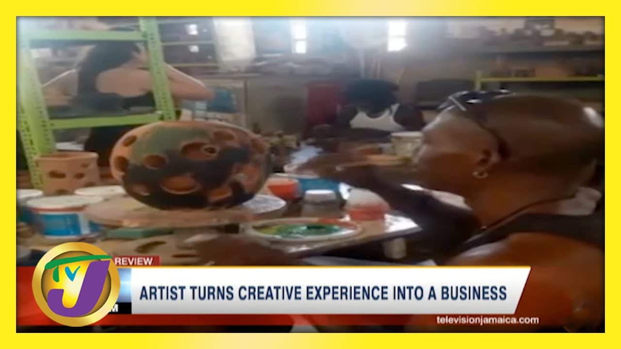 Artist Turns Creative Experience into Business | TVJ Business Day - April 18 2021 7