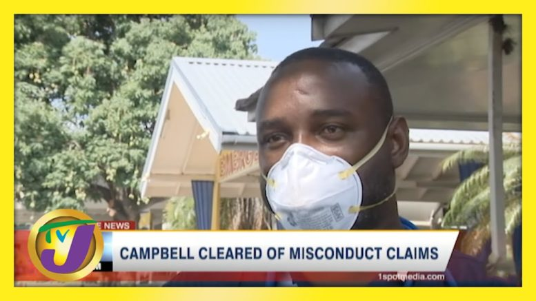 PNP Campbell Cleared of Misconduct Claims | TVJ News - April 18 2021 1