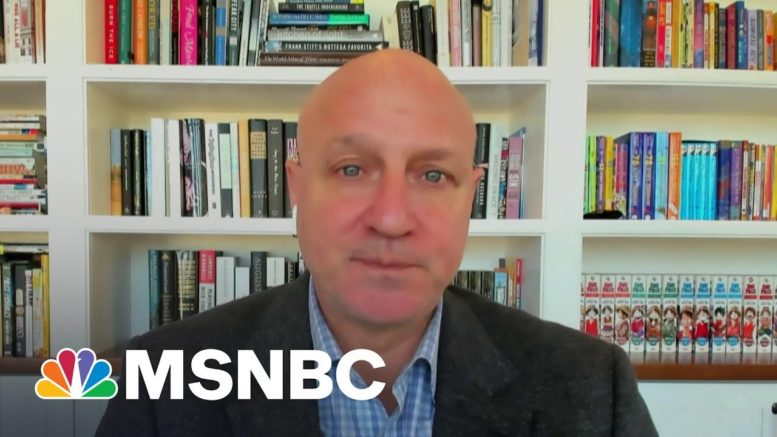Restaurateur Says There's Light At The End Of The Tunnel For His Industry | Stephanie Ruhle | MSNBC 1