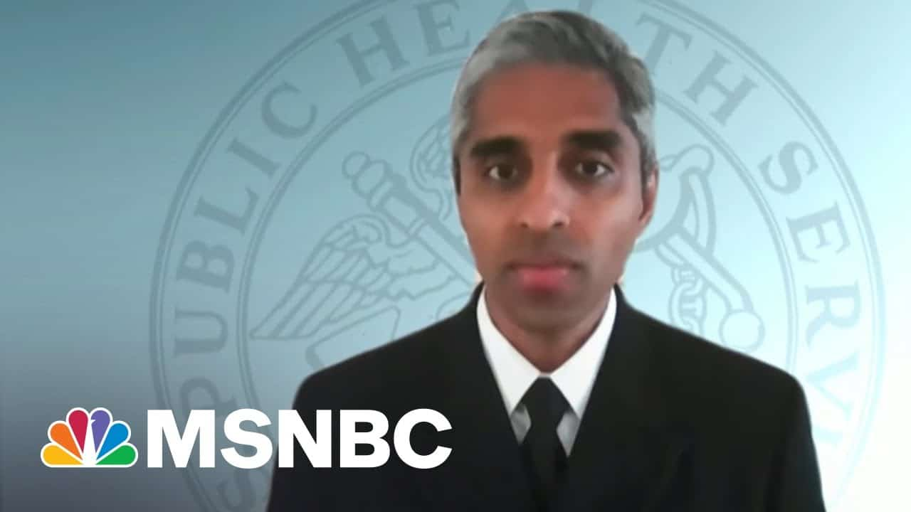 Surgeon General: Vaccines Safe And Effective Against Variants | Morning Joe | MSNBC 1