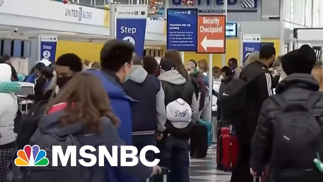 CDC Issues New Travel Guidance For Vaccinated Americans | Craig Melvin | MSNBC 1