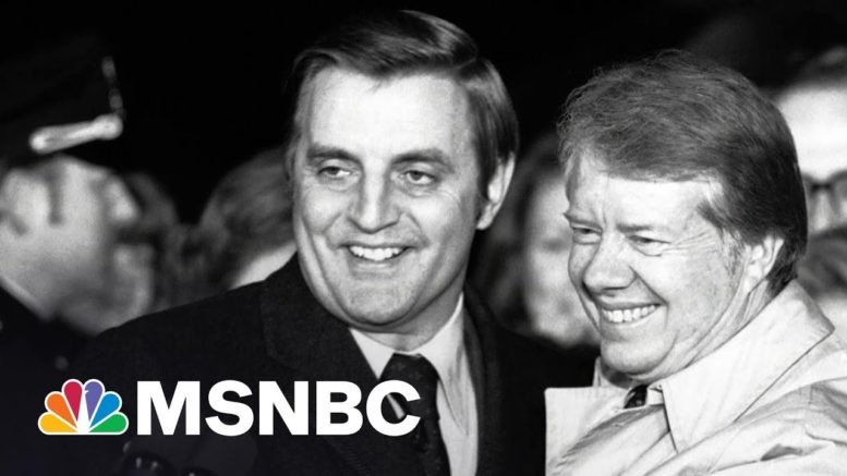 Former Vice President Walter Mondale Has Died At The Age Of 93 | Rachel Maddow | MSNBC 1
