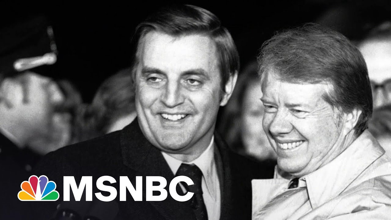 Former Vice President Walter Mondale Has Died At The Age Of 93   Rachel Maddow   MSNBC 1