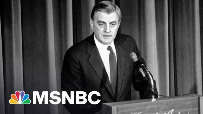 How Walter Mondale Reshaped The Vice Presidency | Morning Joe | MSNBC 1