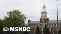 Howard University To Shut Down Classical Studies Department | Morning Joe | MSNBC 1