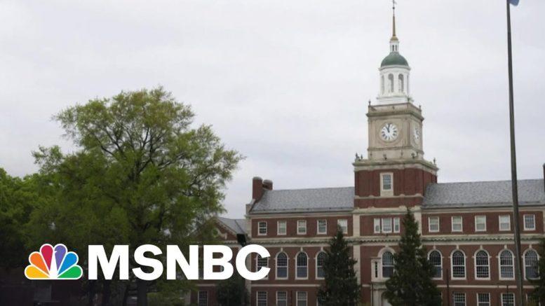 Howard University To Shut Down Classical Studies Department   Morning Joe   MSNBC 1