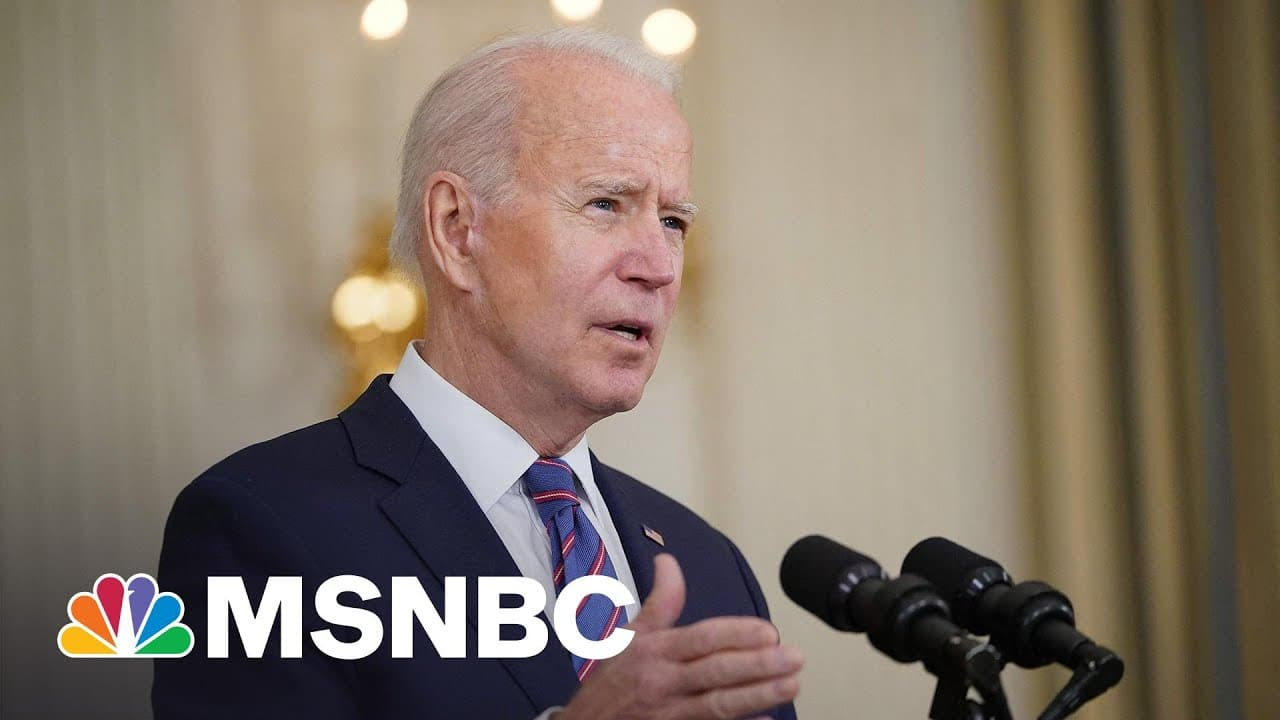'We Still Have A Long Way To Go': Biden Speaks After 'Promising' Jobs Report Numbers | MSNBC 6