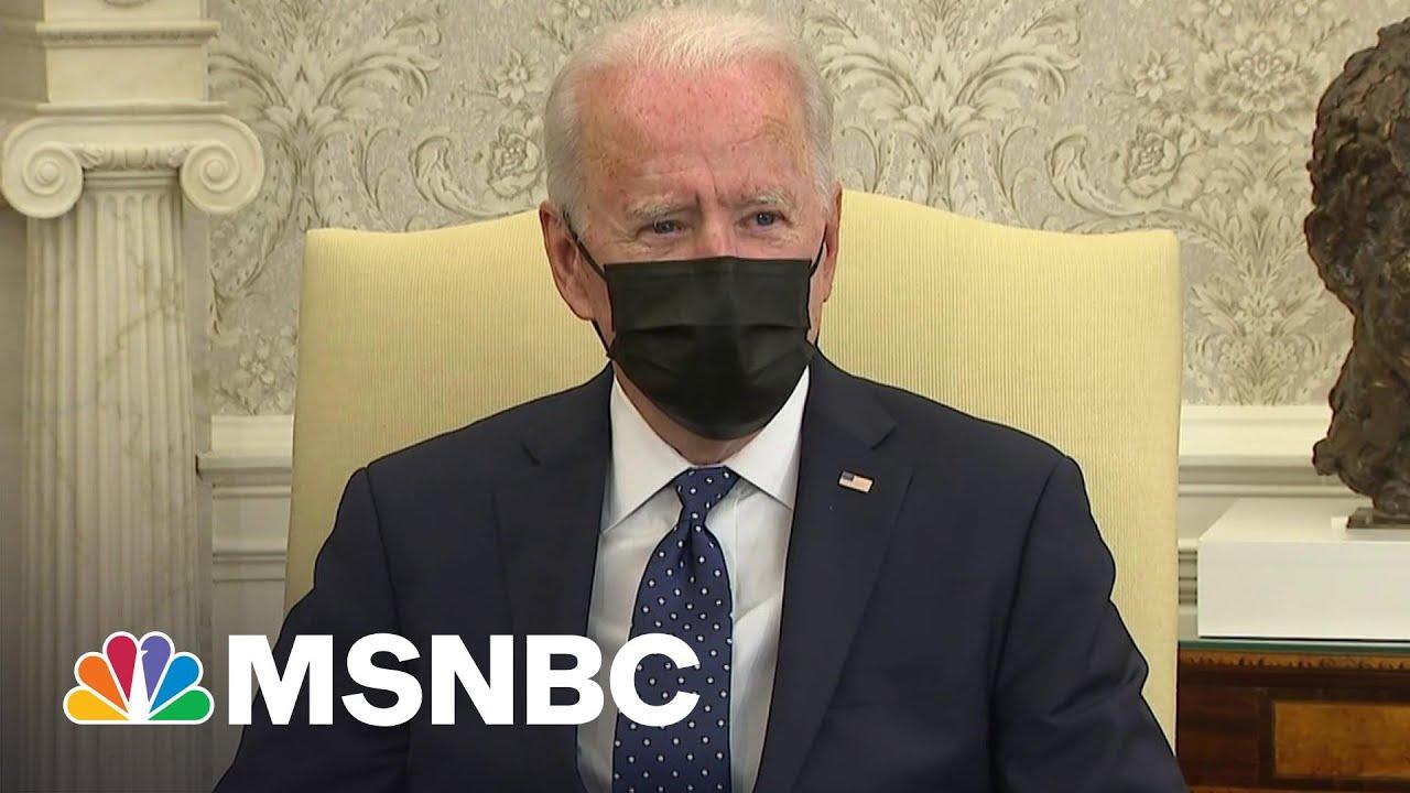 Biden Says He Is Praying For 'Right Verdict' In Derek Chauvin Trial | MSNBC 2