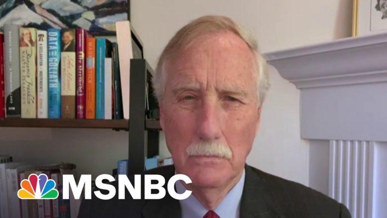 'We Need An Infrastructure Bill': Senator On Biden's Bipartisan Meeting   Morning Joe   MSNBC 1