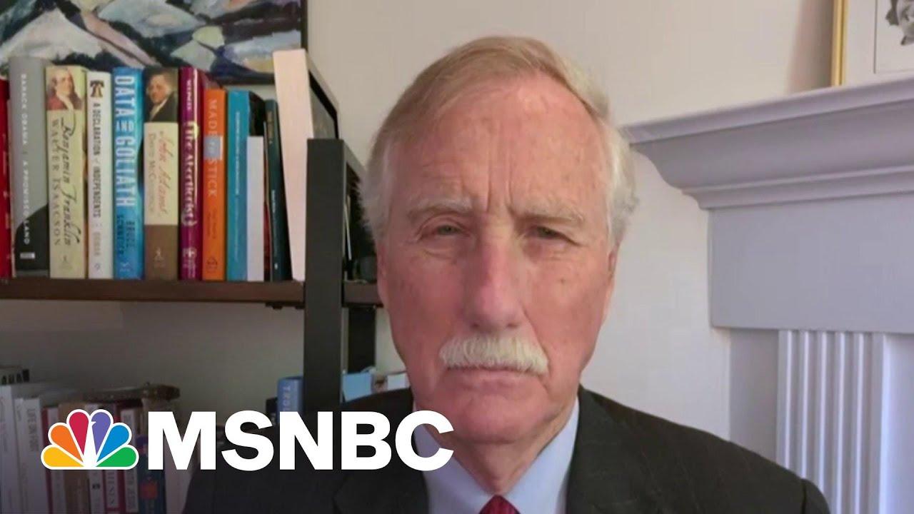'We Need An Infrastructure Bill': Senator On Biden's Bipartisan Meeting   Morning Joe   MSNBC 5