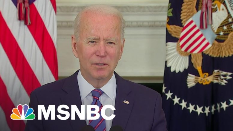 Ruhle: Biden Stresses March Jobs Report Is 'Good News, But Don't Get Complacent' | Craig Melvin 1