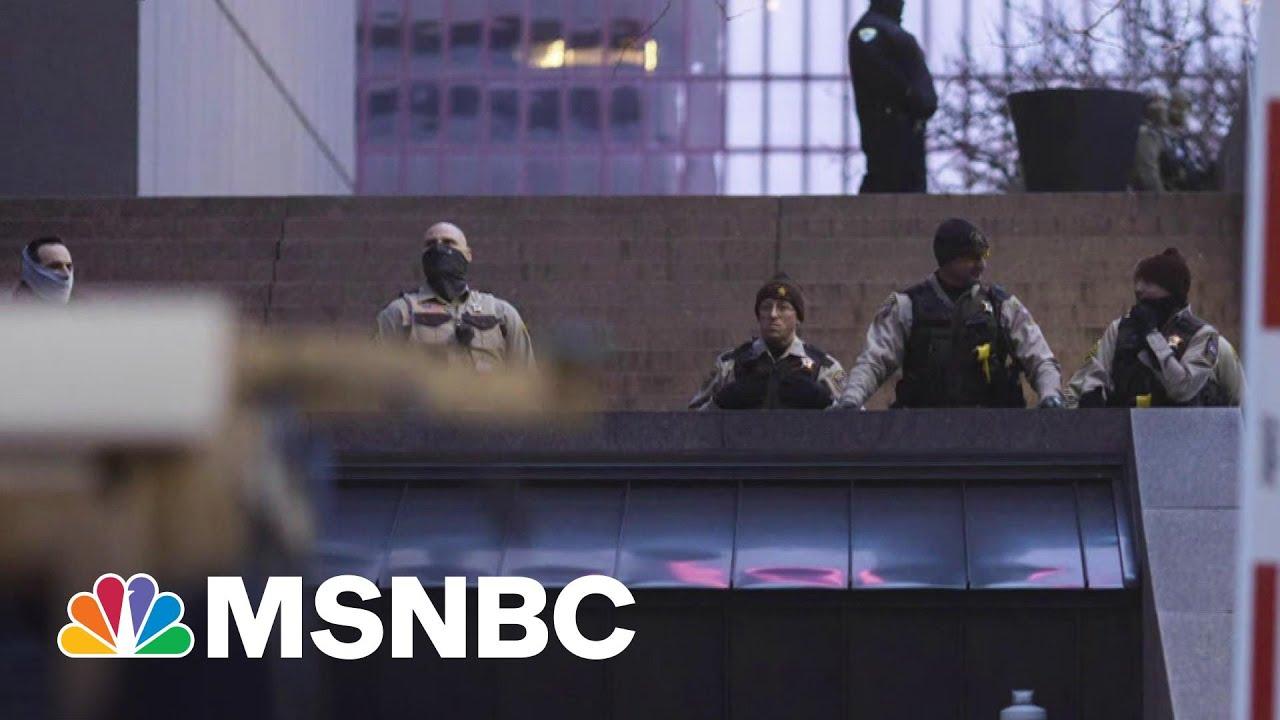 Minneapolis Braces For Chauvin Trial Verdict   MTP Daily   MSNBC 4