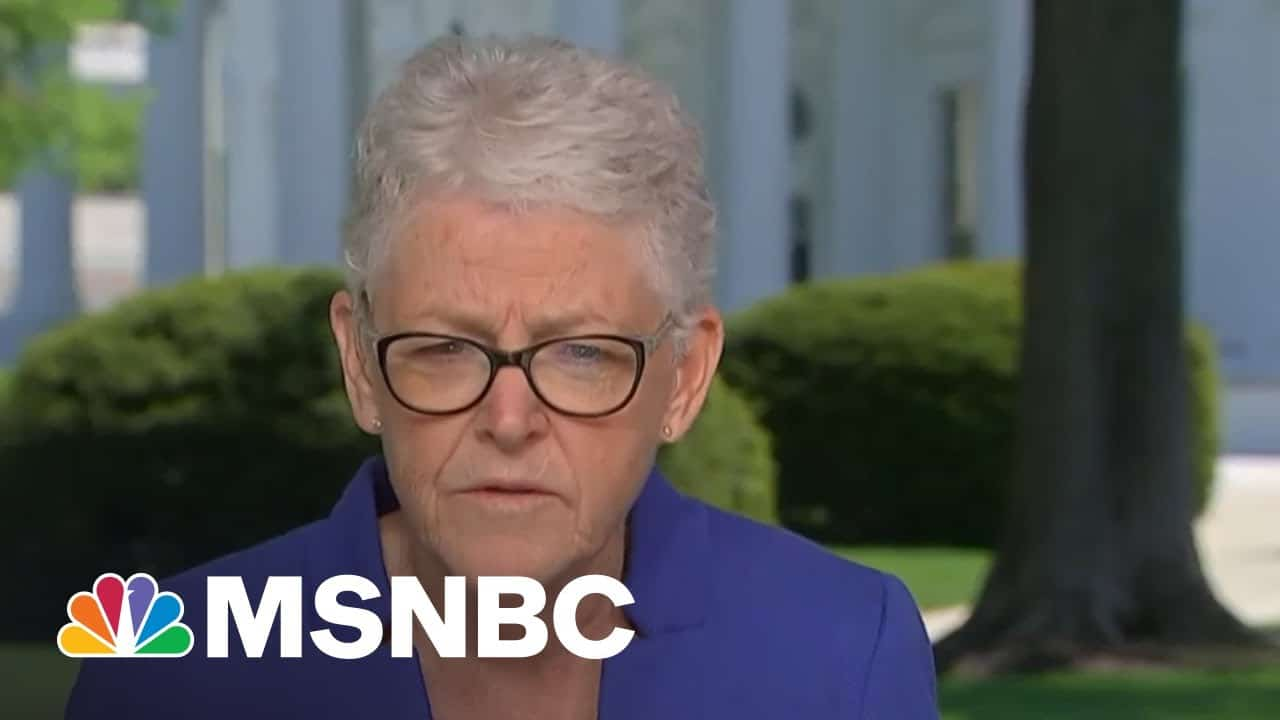 'Clean Energy Is Working In Every Region And It's Less Expensive' | Andrea Mitchell | MSNBC 9