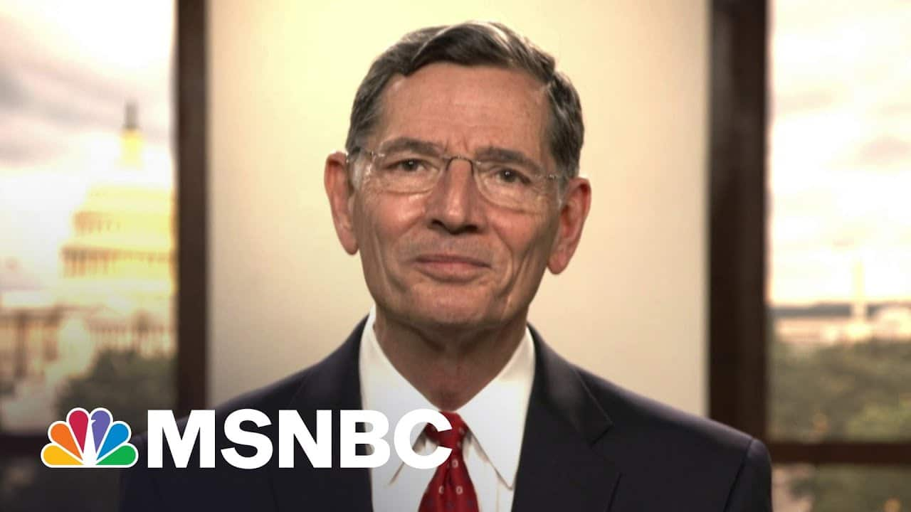 Sen. Barrasso: Afghanistan Troop Withdrawal Plan Is 'A Mistake' | Andrea Mitchell | MSNBC 8