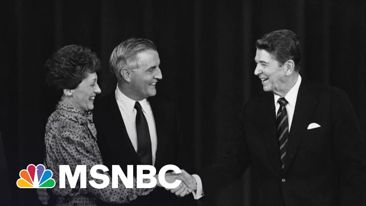 Remembering Vice President Walter Mondale | Andrea Mitchell | MSNBC 7