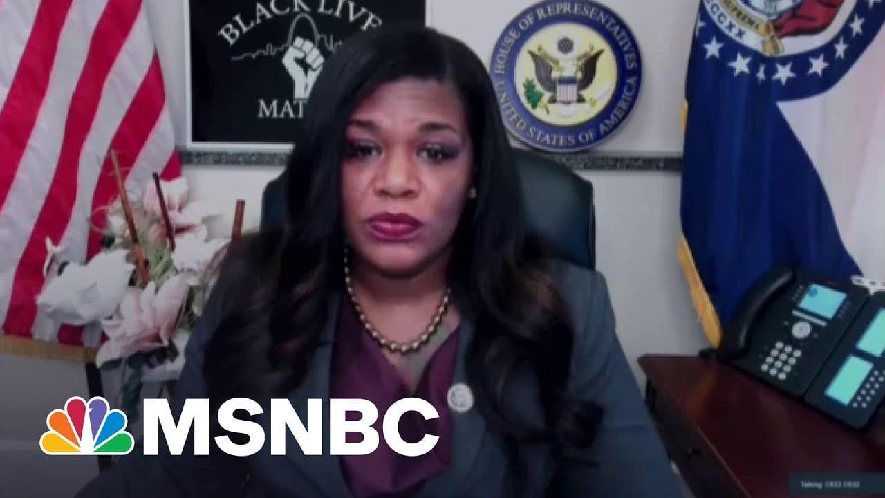 Rep. Cori Bush On The Chauvin Verdict: 'Today, We Saw Accountability Happen' | The ReidOut | MSNBC 3